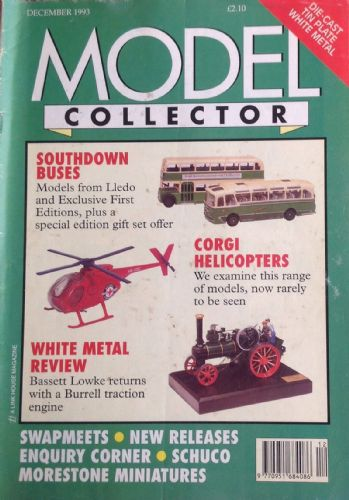 ORIGINAL MODEL COLLECTOR MAGAZINE December 1993